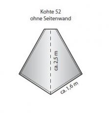 Tortuga Normalkohte S 00/52 ohne Seitenrand
