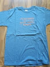 Pfadfinder T-Shirt steel-blue/orange