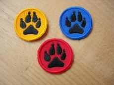 Probenabzeichen für Wölflinge