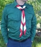 Pfadfinderhemd waldgrün