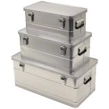 Transportkisten / Alu-Kisten 3er Set