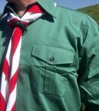 Pfadfinderhemd flaschengrün