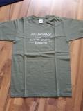 Pfadfinder T-Shirt oliv-grün / grau