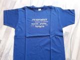 Pfadfinder T-Shirt marineblau / orange
