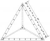 Dreieckzeltplane