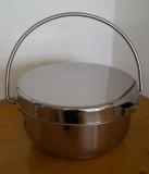 Hordentopf / Hopo aus Edelstahl 6 Liter