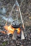 Petromax Dreibein mit Kette & Haken