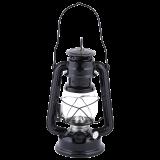Windlicht / Öllaterne / Petroleumlampe schwarz